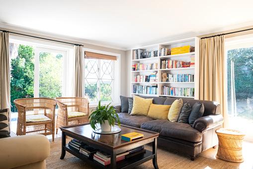 Houseplant「Interior of living room」:スマホ壁紙(5)