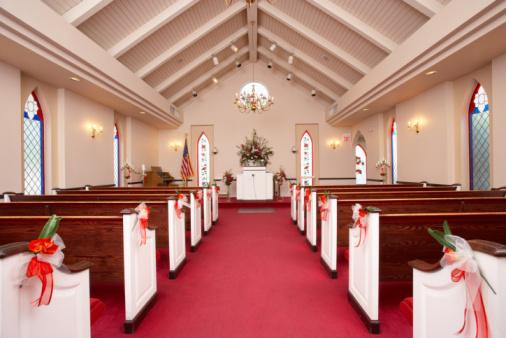 Chapel「Interior of wedding chapel」:スマホ壁紙(5)