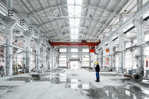 ������「interior of an industrial building」:スマホ壁紙(15)