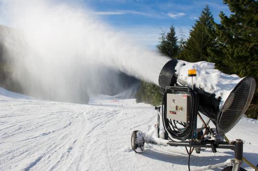 コースト山脈「Snowmaking」:スマホ壁紙(6)