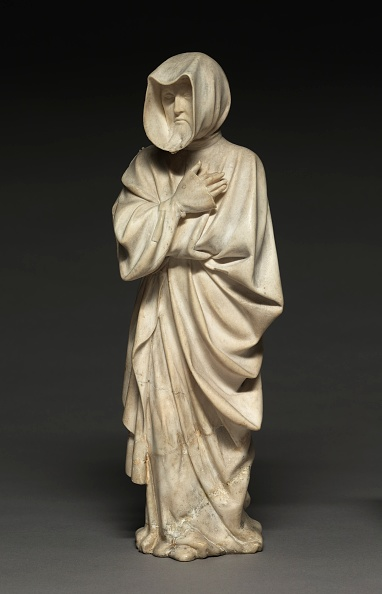 Alabaster「Mourner From The Tomb Of Philip The Bold」:写真・画像(9)[壁紙.com]