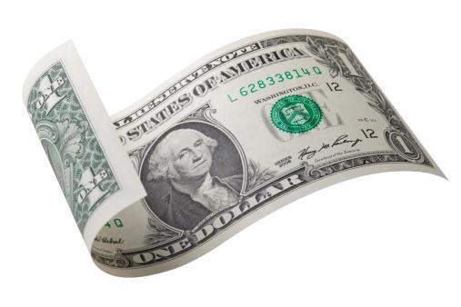 Exchange Rate「One dollar bill」:スマホ壁紙(4)