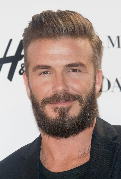 Beard「David Beckham Presents New H&M Collection in Madrid」:写真・画像(1)[壁紙.com]
