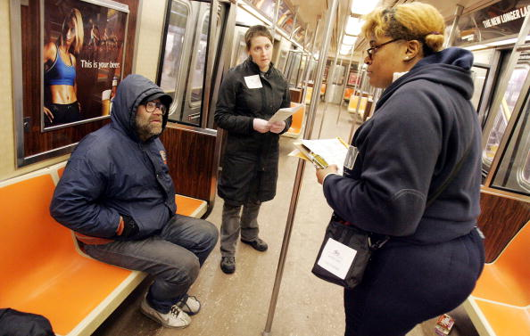 Homelessness「NYC Conducts City-Wide Census Of Homeless Persons」:写真・画像(0)[壁紙.com]