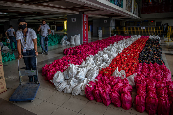 Charity and Relief Work「Northern Philippines Under Lockdown As The Coronavirus Continue To Spread」:写真・画像(4)[壁紙.com]