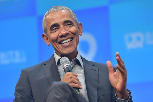 Barack Obama「Bits & Pretzels Founders Festival In Munich - Day 1」:写真・画像(13)[壁紙.com]