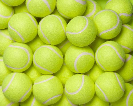 Weekend Activities「Tennis balls background」:スマホ壁紙(3)