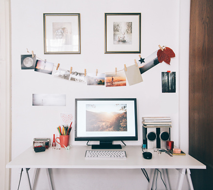 Art「creative workspace desk」:スマホ壁紙(3)
