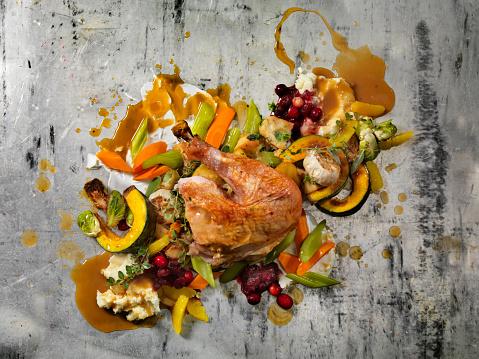 Turkey - Bird「Roast Turkey Dinner」:スマホ壁紙(8)