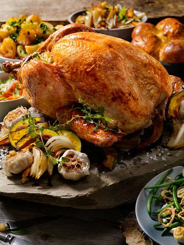 Turkey - Bird「Roast Turkey Dinner」:スマホ壁紙(6)