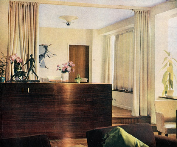 Open Plan「Dining-Alcove In Living-Room At Sun House」:写真・画像(16)[壁紙.com]