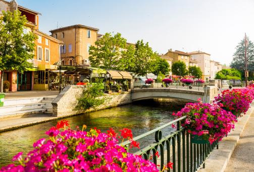 Canal「L'Isle-sur-la-Sorgue - Provence, France」:スマホ壁紙(14)