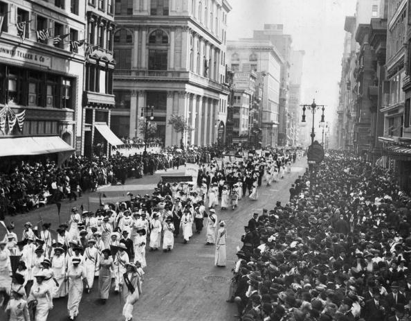 Archival「Women's Suffrage Movement march」:写真・画像(0)[壁紙.com]