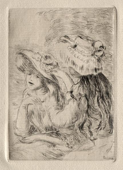 1900「Le Chapeau Epinglé. Creator: Pierre-Auguste Renoir (French」:写真・画像(12)[壁紙.com]