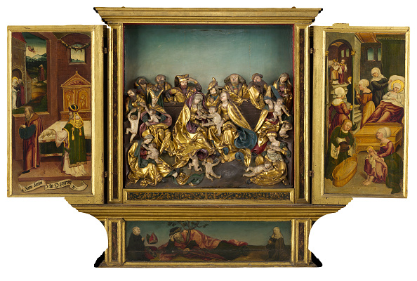 Architectural Feature「Altarpiece With Scenes From The Life Of The Virgin」:写真・画像(12)[壁紙.com]