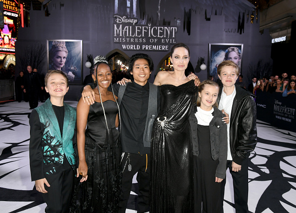 """アンジェリーナ・ジョリー「World Premiere Of Disney's """"Maleficent: Mistress Of Evil"""" - Red Carpet」:写真・画像(3)[壁紙.com]"""