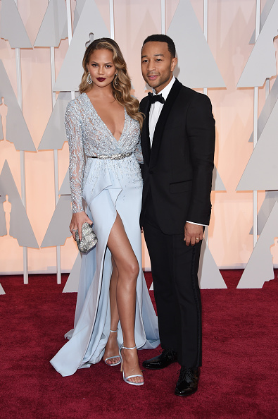 Ankle Strap Shoe「87th Annual Academy Awards - Arrivals」:写真・画像(1)[壁紙.com]
