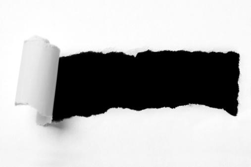Torn「Torn paper hole」:スマホ壁紙(11)