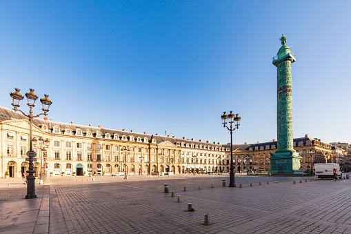 Monument「France, Paris, Place Vendome, Victory Column, Colonne Vendome」:スマホ壁紙(14)