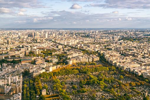 France「View from Montparnasse Tower, Paris, France」:スマホ壁紙(11)