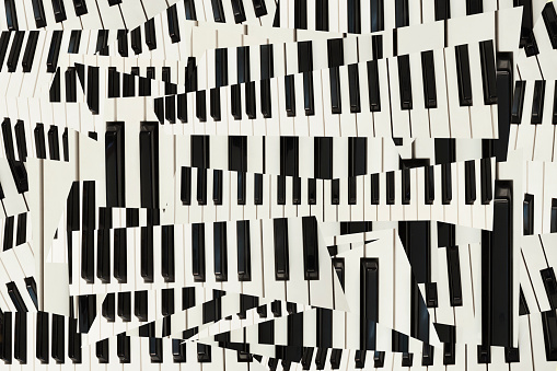 City Of Los Angeles「Collage of Keyboard」:スマホ壁紙(2)