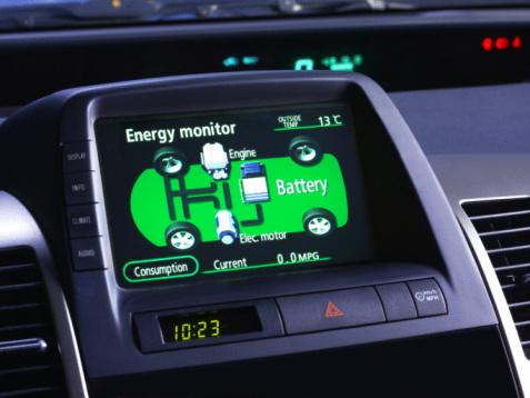 Parsons Green「Energy monitor for electric car, hybrid car.」:スマホ壁紙(14)