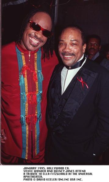 David Keeler「Quincy Jones And Stevie Wonder At A Tribute To Ella Fitzgerald」:写真・画像(8)[壁紙.com]