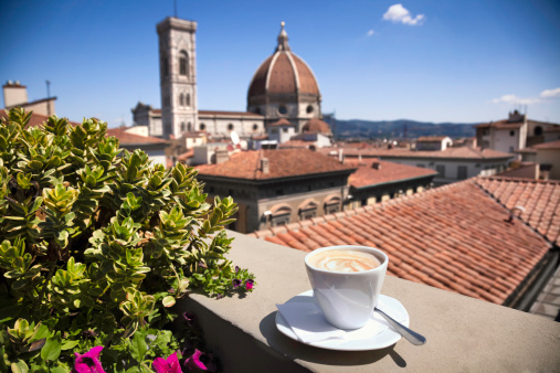 Cathedral「Italian coffee:  Florence Cathedral」:スマホ壁紙(13)