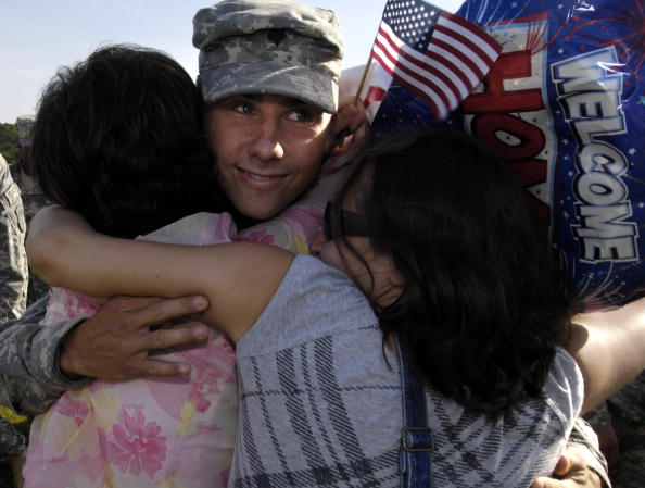 Fort Stewart「Soldiers From The 549th Military Police Company Return From Afghanistan」:写真・画像(10)[壁紙.com]