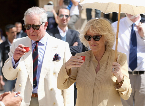 Beige「Prince Charles And The Duchess Of Cornwall Visit Jordan - Day 3」:写真・画像(17)[壁紙.com]