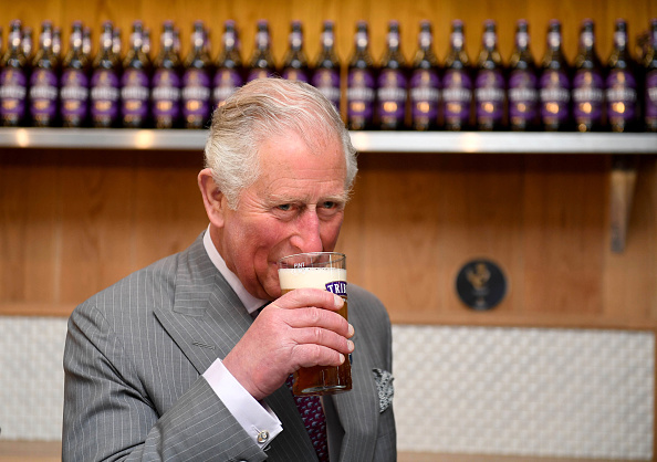 Drinking Glass「The Prince Of Wales Visits St Austell Brewery」:写真・画像(2)[壁紙.com]