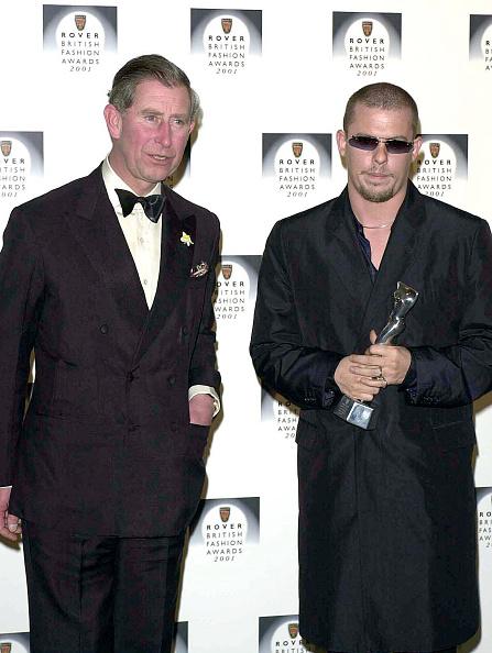Alexander McQueen - Designer Label「Rover British Fashion Awards 2001」:写真・画像(11)[壁紙.com]