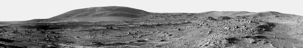 Escarpment「Panoramic view of Mars」:スマホ壁紙(1)