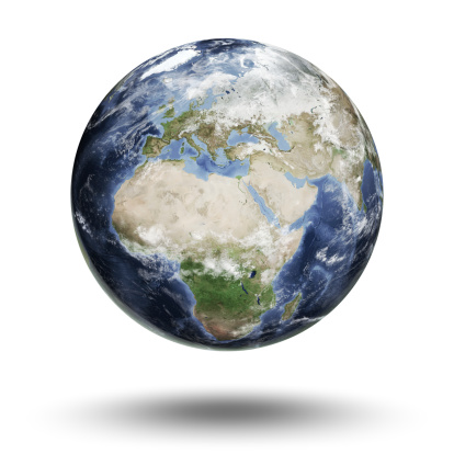 Southern Africa「Earth - European Eastern Hemisphere」:スマホ壁紙(4)