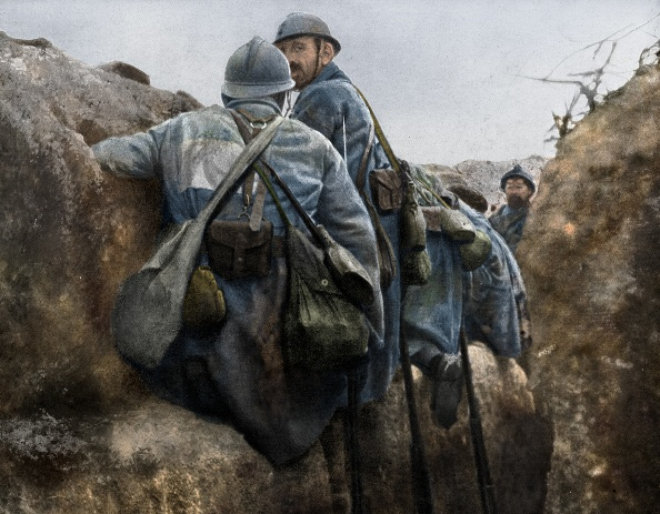 Army Soldier「A French Trench Before An Attack」:写真・画像(19)[壁紙.com]