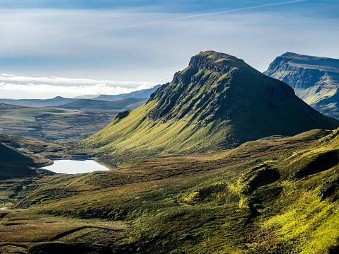 Island「Great Britain, Scotland, Isle of Skye, View from Pass Quiraing」:スマホ壁紙(4)