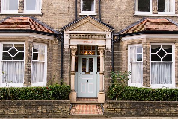 Edwardian Style「Edwardian front porch, Woodbridge, Suffolk, UK」:写真・画像(8)[壁紙.com]