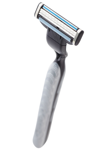 Handle「Black razor on white background」:スマホ壁紙(15)