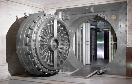Finance「Bank Vault」:スマホ壁紙(13)