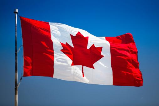 かえでの葉「カナダの flagpole シンボル」:スマホ壁紙(12)