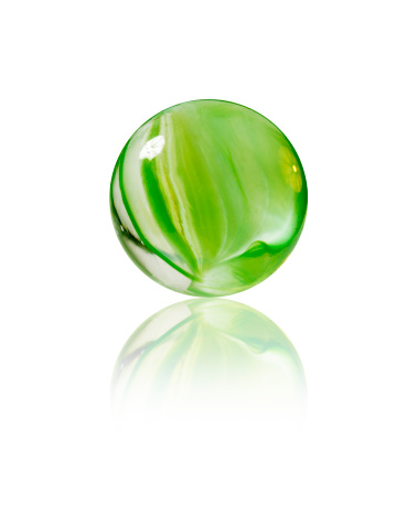 Sphere「Studio shot of green marbles arranged in Exclamation Point」:スマホ壁紙(15)