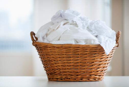 Dirty「Studio shot of laundry basket」:スマホ壁紙(14)