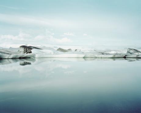 Standing Water「Ice Melt in Jökulsárlón, Iceland」:スマホ壁紙(16)