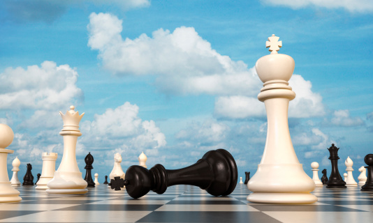 Achievement「Chess board, black king lying beside white king」:スマホ壁紙(16)