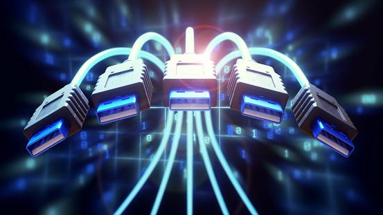Fiber「Dynamic USB Cables Close-Up」:スマホ壁紙(13)