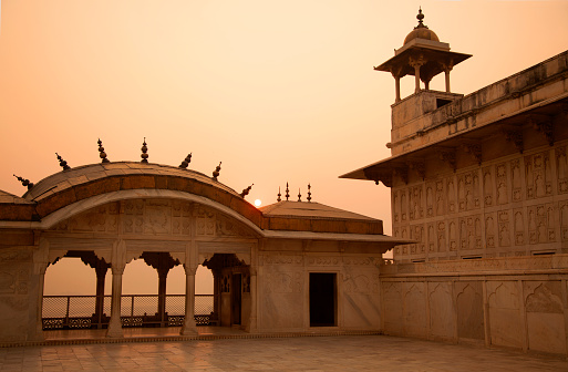 Indian Culture「A view of red fort rooftop」:スマホ壁紙(4)