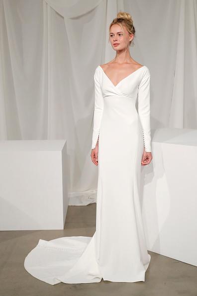 Wedding Dress「Amsale Fall 2020」:写真・画像(8)[壁紙.com]
