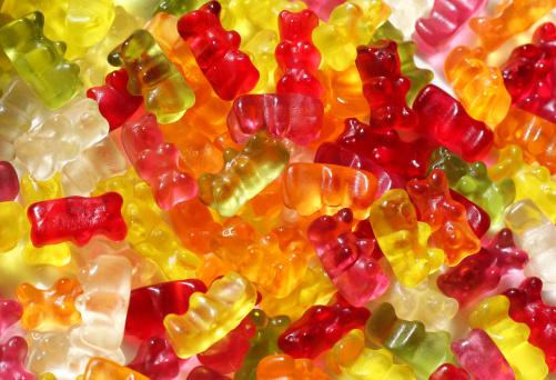 Crunchy「Gummy Bears Background」:スマホ壁紙(8)