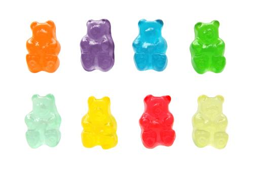 Sweet Food「Gummy bears」:スマホ壁紙(3)