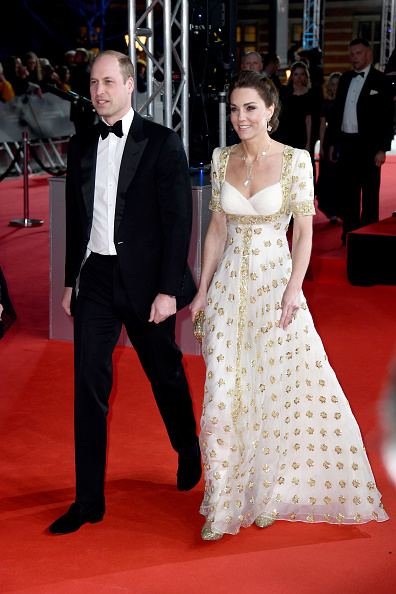 Alexander McQueen - Designer Label「EE British Academy Film Awards 2020 - Red Carpet Arrivals」:写真・画像(5)[壁紙.com]